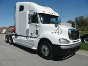 Американские тягачи Volvo,  Freightliner,  Peterbilt,  Kenworth