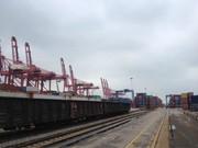 доставка железнодорожным транспортом (контейнер) по Китаю до достык