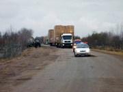 (Oversized transportations in Uzbekistan) Негабаритный груз Узбекистан